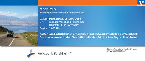 Flyer Volksbank
